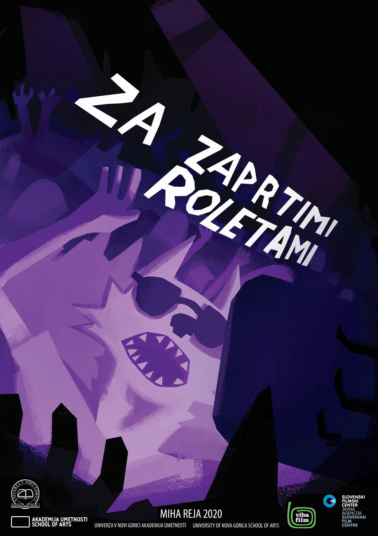 MihaReja_ZaZaprtimiRoletami_Plakat